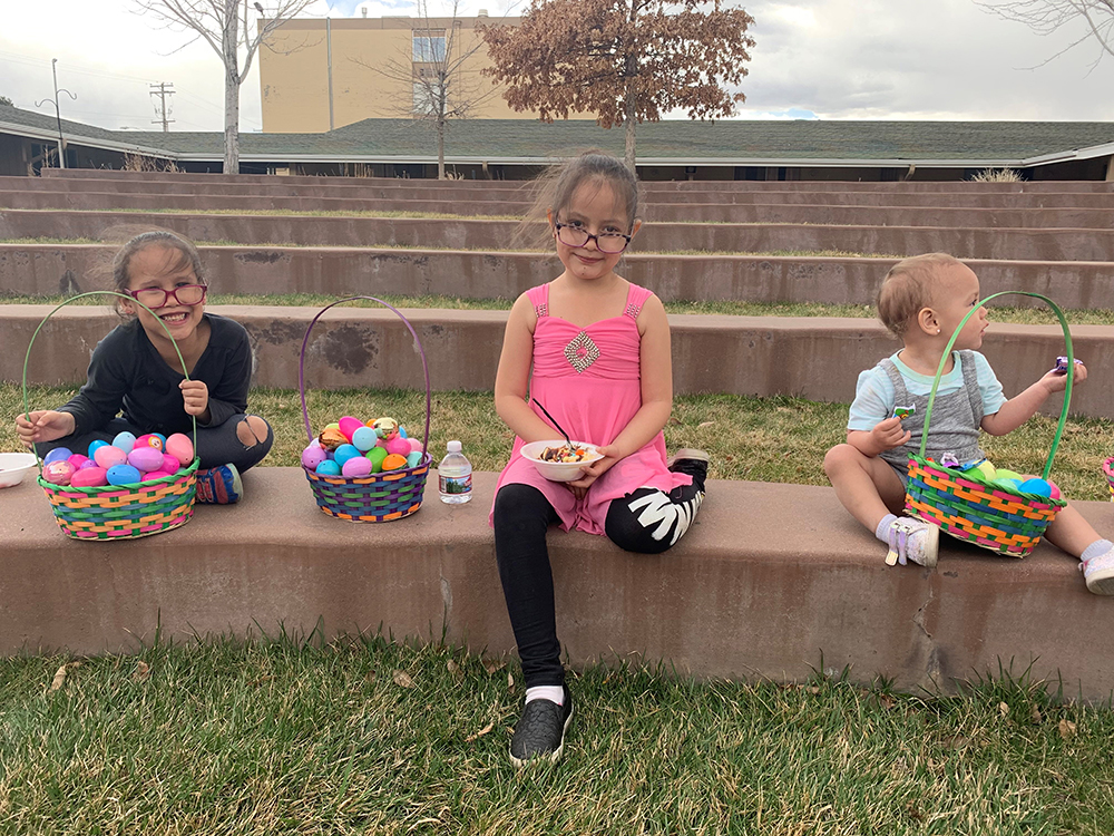Easter Egg Hunt Brings Happiness & Excitement