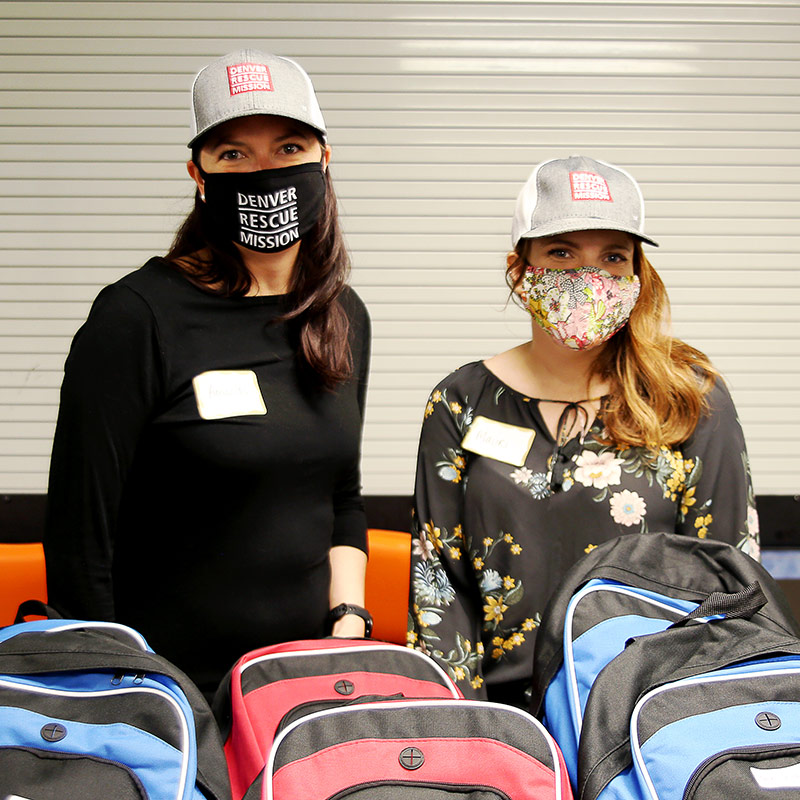 Children at The Crossing are Equipped with Back-to-School Supplies