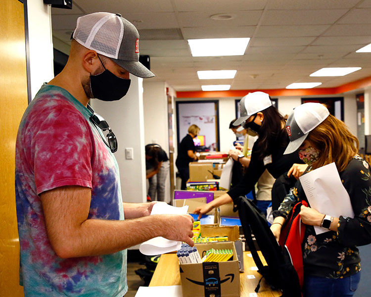 Young Professionals: Stepping up to serve those in need