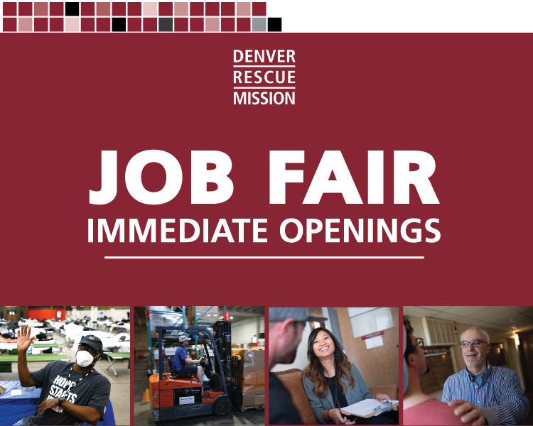 We're Hiring! Join Us at the May 2021 Mission Job Fair.