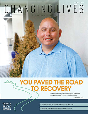 You Paved the Road to Recovery